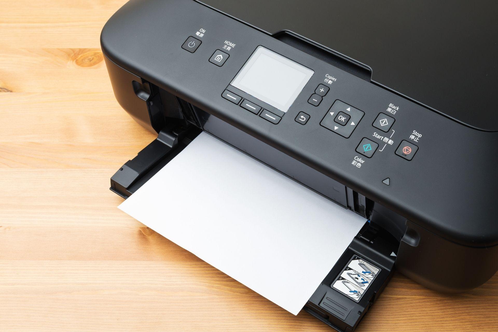 A black printer